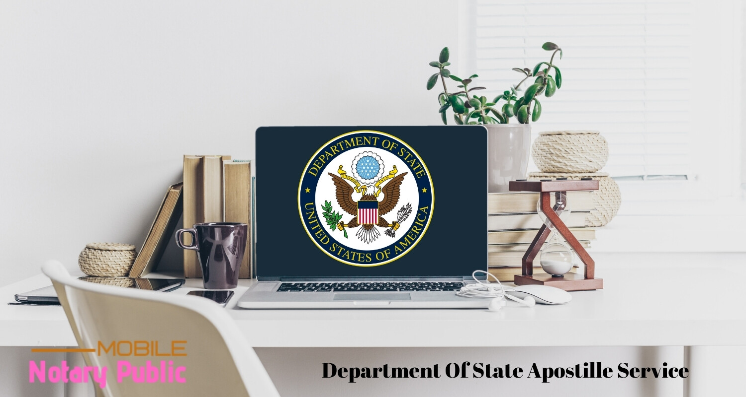 Department Of State Apostille Services